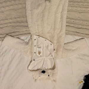 Pottery barn polar bear Halloween costume.